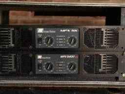 Potência /Amplificador Machine MPX 5400 e 5k (cada)