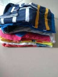 10 Camisas para crianças com 08 anos .