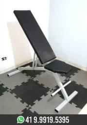 Banco Reclinável Academia Musculação Novo! Fabricação Própria