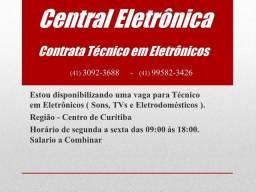 Contrata Técnico em Eletrônica