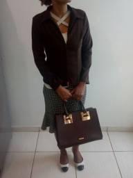 Bolsa maravilhosa e blazers