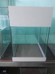 Aquário Marajó branco