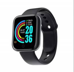 Relógio smartwatch y68/D20- Exercícios físicos e notificações