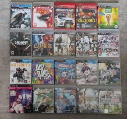 Jogos PS3 a partir de 20 reais