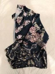 Camisa feminina de seda