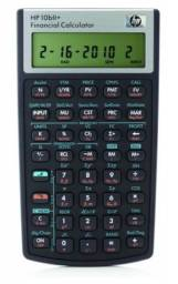 Calculadora Financeira hp 10BII+. De R$ 400,00 por R$ 280,00