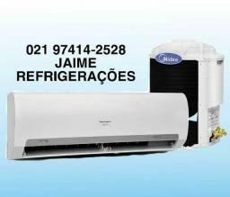 Instalaçao e limpeza em ar condicionados