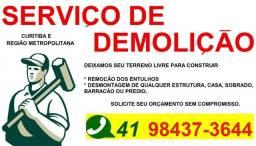 Demolição, Serviço de demolição, Serviços urgentes