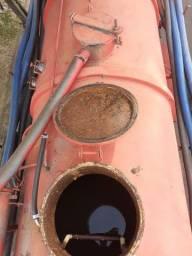 Tanque combinado limpa fossa