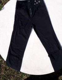 Calça Jeans - Cintura Alta