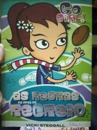 Título do anúncio: Coleção de livros Go Girls. 5 livros seminovos