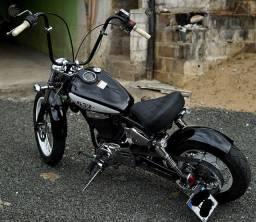Vendo/Troco - Moto Custom Estilo Bobber 650cc Suzuki Savage