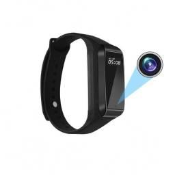 Câmera Hd 1080p Mini Gravador De Vídeo Relógio Inteligente
