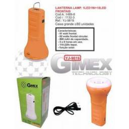 (WhatsApp) 3 em 1 - lanterna, power bank, luminária kyj-9819