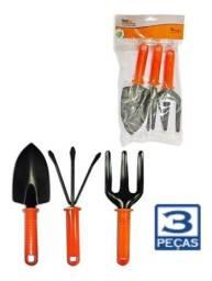 Título do anúncio: Kit ferramentas para jardinagem 3 peças Bestfer