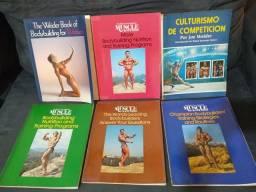Livros de Fisiculturismo em Inglês e Espanhol