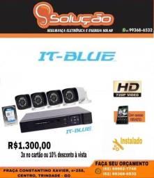 Câmeras de Segurança R$1.300,00