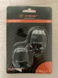 Refletor ciclístico LED TSW de silicone
