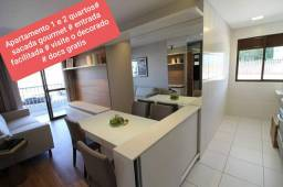 Apartamento + sacada gourmet + entrada 60x documentação inclusa