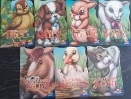 Kit Animais Recortados - 7 Unidades
