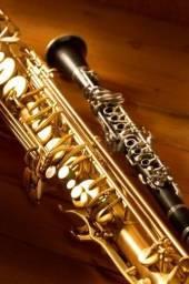 Aulas de Saxofone e Clarinete no ABC Paulista