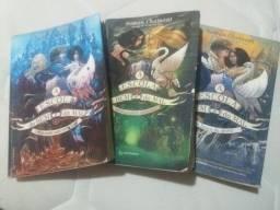 Três livros A Escola do Bem e do Mal