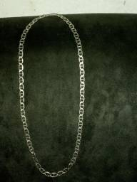 Cordão  de  prata maciso puro