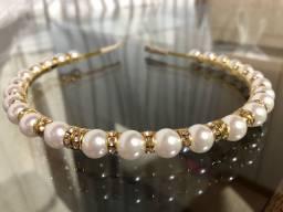 Tiara de pérolas (tiara de luxo)