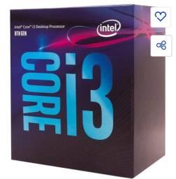 Vendo i3 8100 com video integrado (usado)