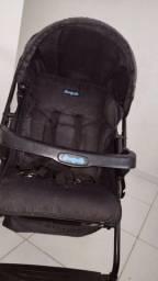 carrinho de bebê burigoto preto