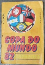 Álbum copa do mundo 82 (1982)