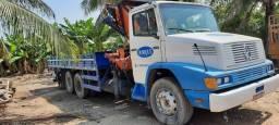 Caminhão com Munck MB 1418 Ano 90 Truck