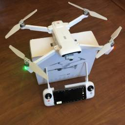 Drone profissional Fimi x8 se 2020 - câmera 4K, Guimbal 3 eixos.
