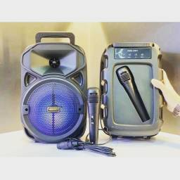 Caixa Bluetooth Kimiso com microfone