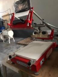 Máquina De Serigrafia Plana Semiautomática Electra