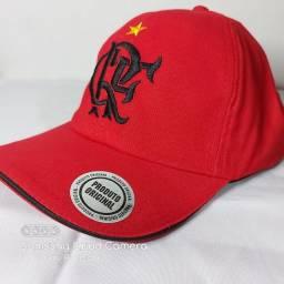 Boné Vermelho do Flamengo