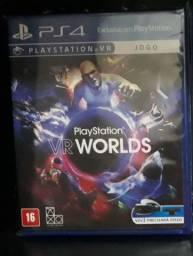 Playstation VR Worlds- Jogo Ps4 (TROCO)