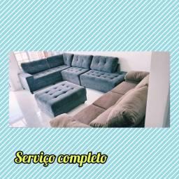 Higienização de sofás residencial, cadeiras jantar e interior de veículos