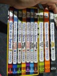 Box Diário de um Banana 1 ao 7 + 3 edições com capa dura
