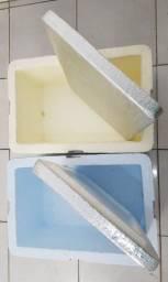 4 Caixas de Isopor