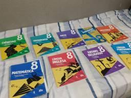 Livros 8 ano Colégio adventista