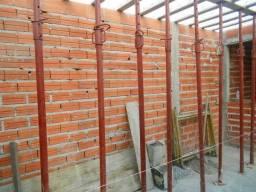 Locação de escora metálica para laje ou estrutura