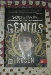 Livro Sociedade dos meninos gênios - Lev Ac Rosen