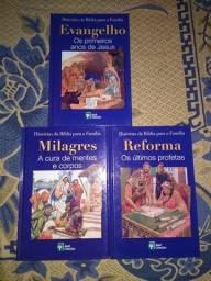 3 livros das histórias da Bíblia