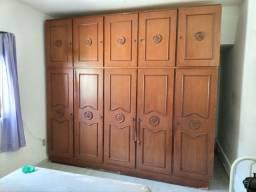 Armário duplex em madeira