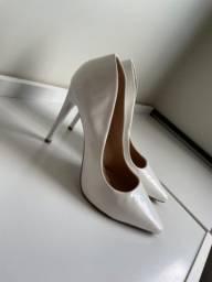 Scarpin Branco 38