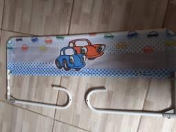 Grade de proteção para cama infantil