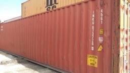 Container 20 e 40 pés à pronto entrega e qualidade