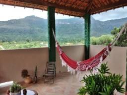 Vendo Casa no capão, chapada diamantina, distrito de Palmeiras, com 170m², 2 quartos.