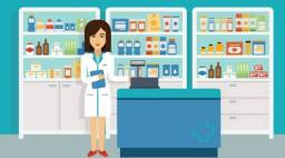 Vaga Atendente Farmácia de Manipulação